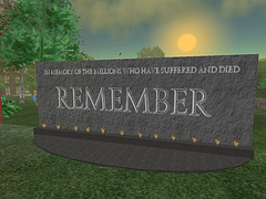Second Life: Porcupine: Autism Memorial