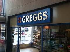 The world famous Greggs